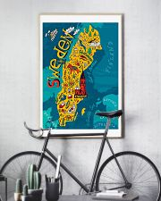 Sweden Map 11x17 Poster lifestyle-poster-7