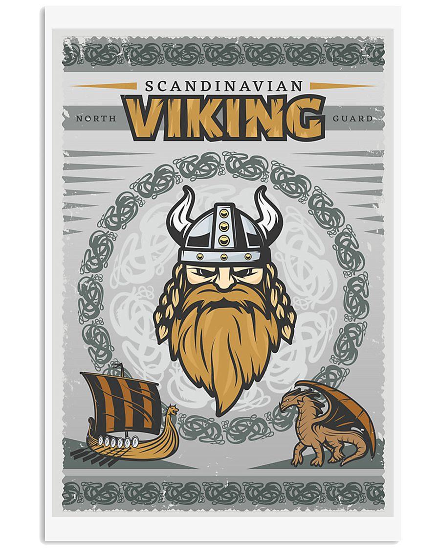 Viking Scandinavian 11x17 Poster