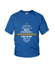 Finnish Grandma Youth T-Shirt front