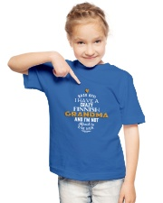 Finnish Grandma Youth T-Shirt lifestyle-youth-tshirt-front-2