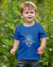 Finnish Grandma Youth T-Shirt lifestyle-youth-tshirt-front-3