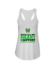 Cerebral Palsy Heart Ladies Flowy Tank thumbnail