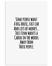 Finn Wants A Cabin 11x17 Poster thumbnail