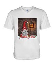 Finnish Christmas V-Neck T-Shirt thumbnail
