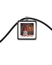 Finnish Christmas Cord Rectangle Necklace thumbnail