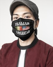 Italian American 2 2 Layer Face Mask - Single aos-face-mask-2-layers-lifestyle-front-08