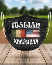 Italian American 2 2 Layer Face Mask - Single aos-face-mask-2-layers-lifestyle-front-24