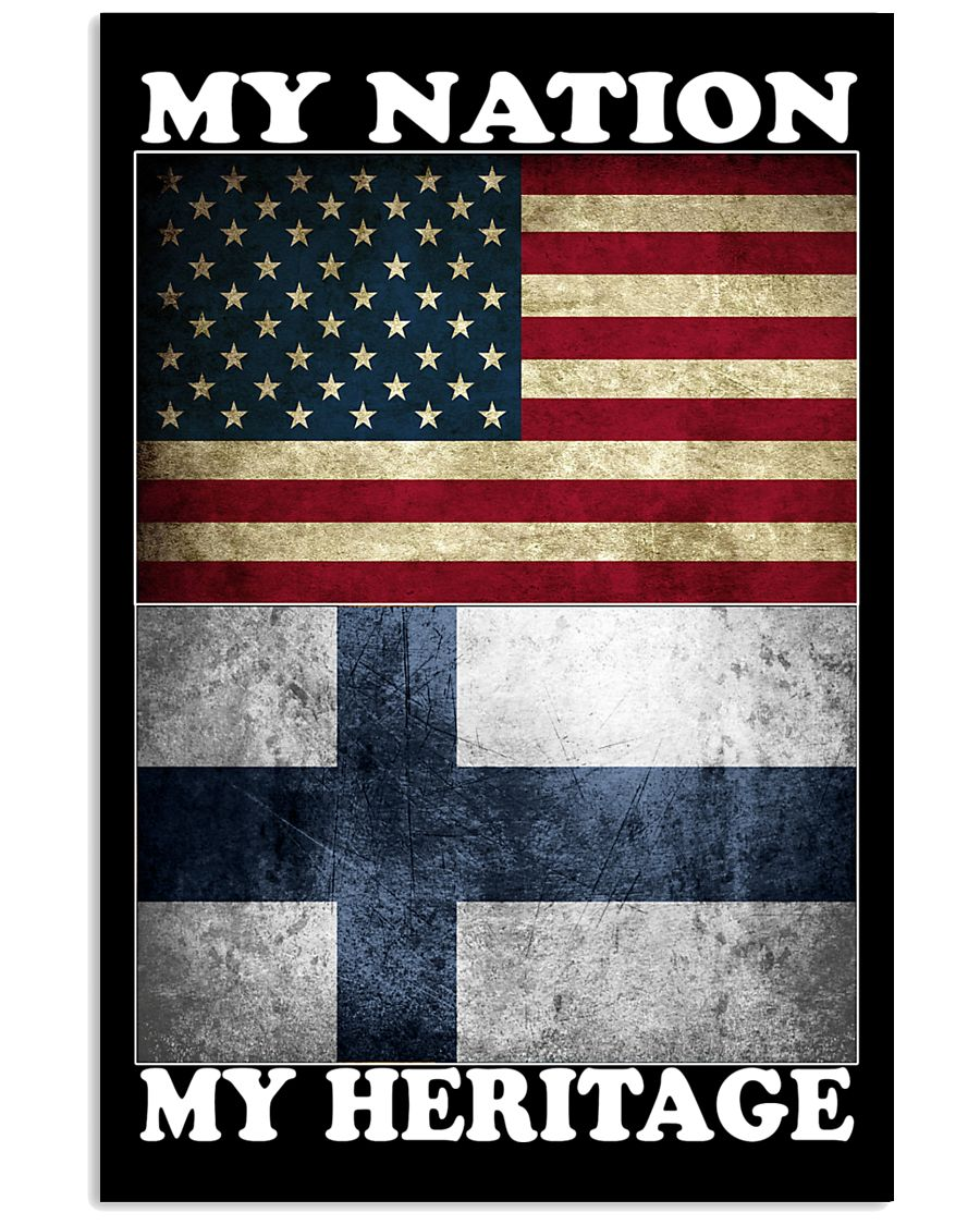 Finnish Nation Heritage 11x17 Poster