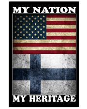 Finnish Nation Heritage 11x17 Poster front
