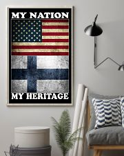 Finnish Nation Heritage 11x17 Poster lifestyle-poster-1