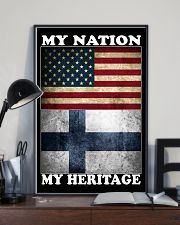 Finnish Nation Heritage 11x17 Poster lifestyle-poster-2