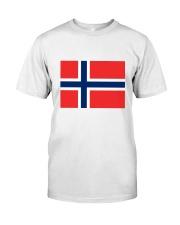 Norway Flag Classic T-Shirt thumbnail