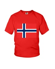 Norway Flag Youth T-Shirt thumbnail