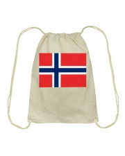 Norway Flag Drawstring Bag thumbnail