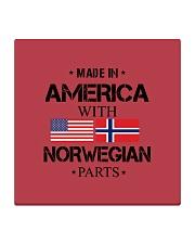 Norway Flag Square Coaster thumbnail