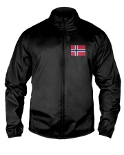 Norway Flag Lightweight Jacket front