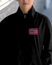 Norway Flag Lightweight Jacket garment-embroidery-jacket-lifestyle-10