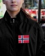 Norway Flag Lightweight Jacket garment-embroidery-jacket-lifestyle-12