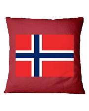 Norway Flag Square Pillowcase thumbnail
