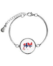 Norway Symbol Metallic Circle Bracelet thumbnail