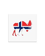 Norway Symbol Square Magnet thumbnail