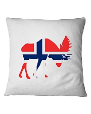Norway Symbol Square Pillowcase thumbnail