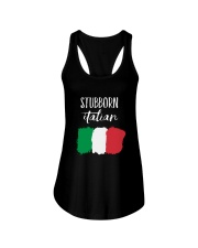 Italian Stubborn Ladies Flowy Tank thumbnail