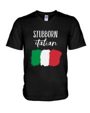 Italian Stubborn V-Neck T-Shirt thumbnail