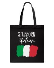 Italian Stubborn Tote Bag thumbnail