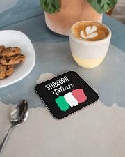 Italian Stubborn Square Coaster aos-homeandliving-coasters-square-lifestyle-02
