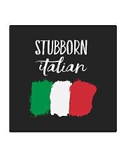 Italian Stubborn Square Coaster front