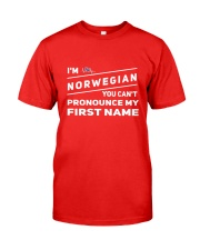 Norwegian Pronounce Classic T-Shirt thumbnail