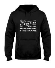 Norwegian Pronounce Hooded Sweatshirt thumbnail
