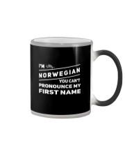 Norwegian Pronounce Color Changing Mug thumbnail