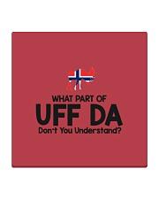 Norwegian Pronounce Square Coaster thumbnail
