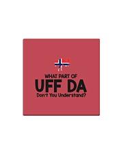 Norwegian Pronounce Square Magnet thumbnail