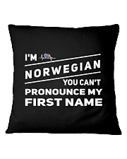 Norwegian Pronounce Square Pillowcase thumbnail