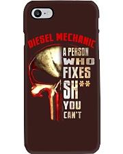 diesel mechanic fixes Phone Case thumbnail