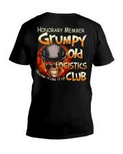 logistics-grumpy V-Neck T-Shirt thumbnail