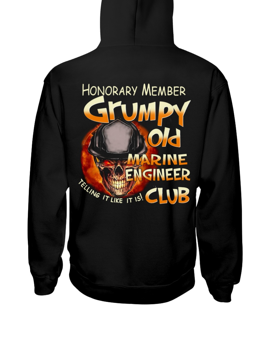 marineengineer Hooded Sweatshirt