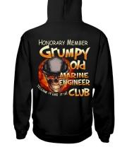 marineengineer Hooded Sweatshirt back