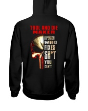 ToolandDieMaker Hooded Sweatshirt back