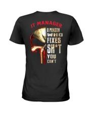 it manager Ladies T-Shirt thumbnail