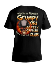 safety officer V-Neck T-Shirt thumbnail