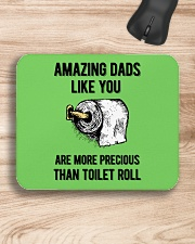 Amazing Dads like You Are Precious Than Toilet Rol Mousepad aos-mousepad-front-lifestyle-1