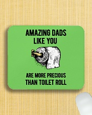 Amazing Dads like You Are Precious Than Toilet Rol Mousepad aos-mousepad-front-lifestyle-6