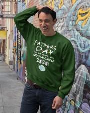 Fathers Day the One Where I was Quarantined 2020 Crewneck Sweatshirt lifestyle-unisex-sweatshirt-front-4