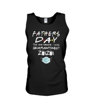 Fathers Day the One Where I was Quarantined 2020 Unisex Tank thumbnail