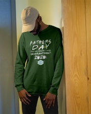 Fathers Day the One Where I was Quarantined 2020 Long Sleeve Tee apparel-long-sleeve-tee-lifestyle-front-13
