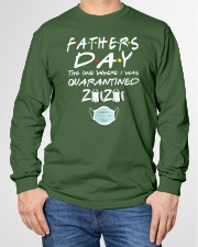 Fathers Day the One Where I was Quarantined 2020 Long Sleeve Tee garment-tshirt-longsleeve-front-01